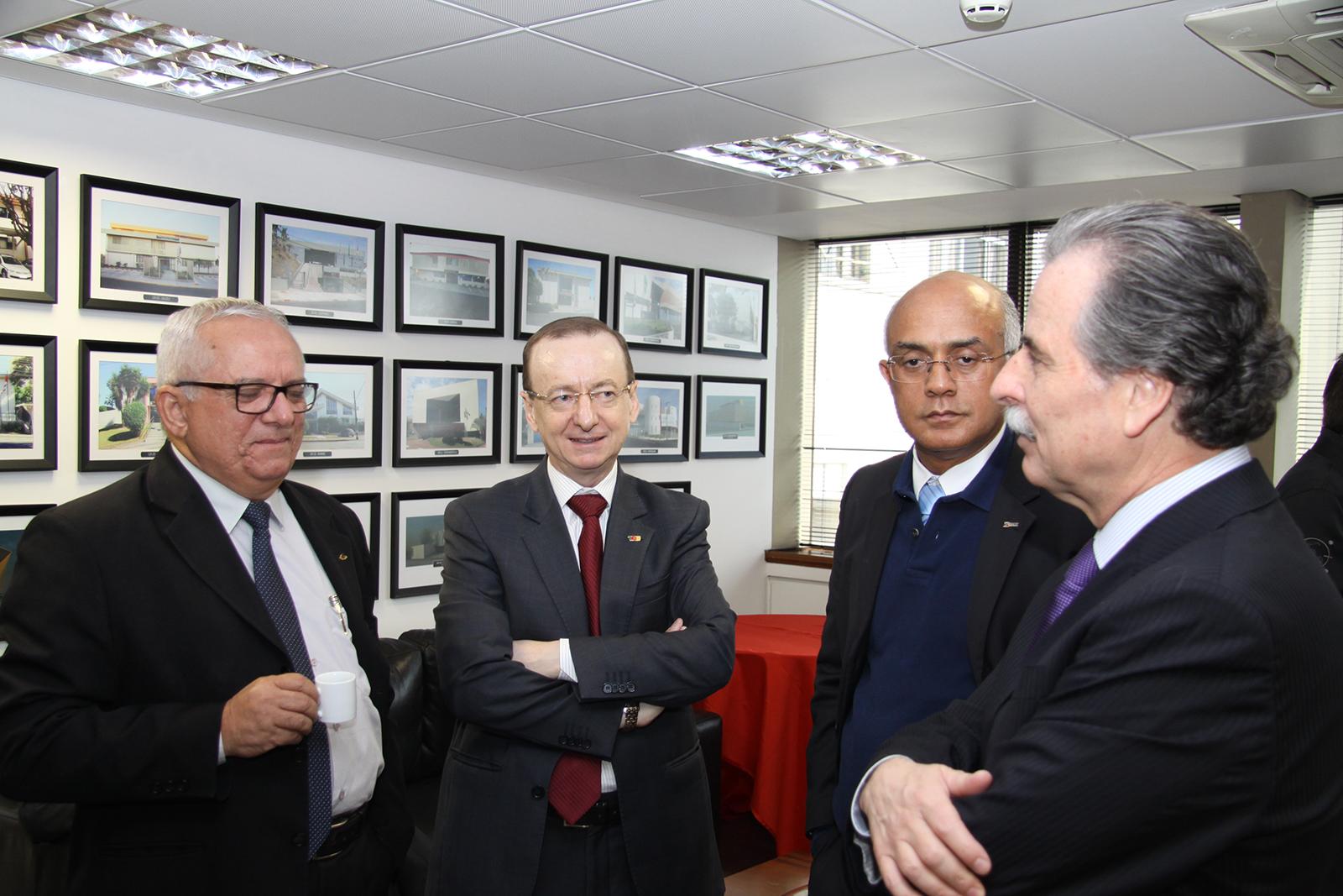 Presidente do TCE-MS participa da reunião da Rede INDICON em São Paulo