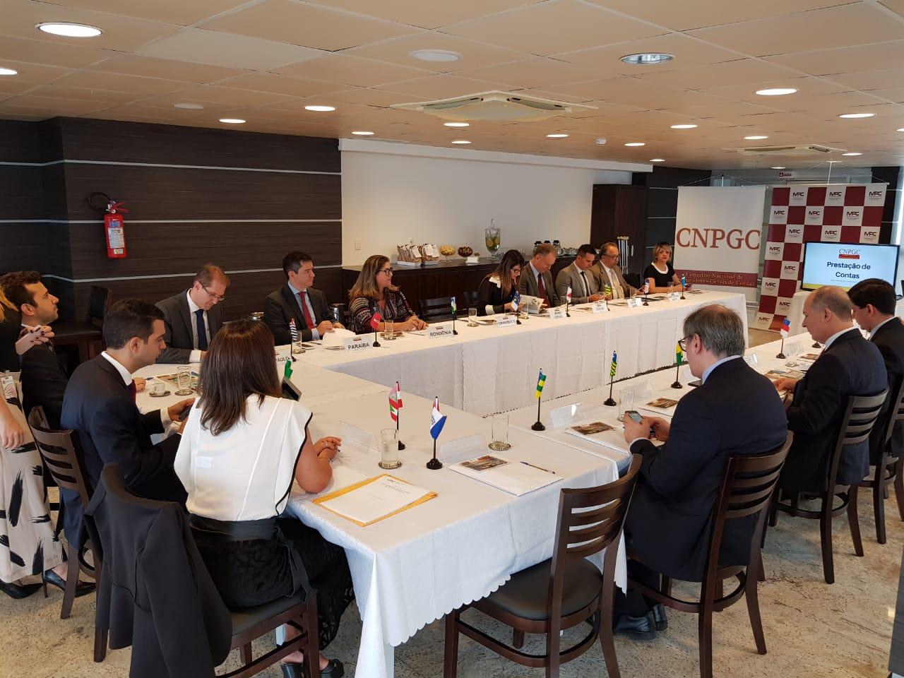Procurador-Geral participa de reunião do Conselho Nacional dos Procuradores Gerais de Contas