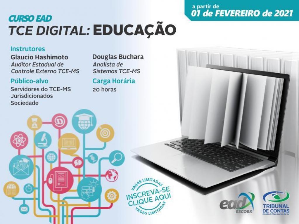 TCE capacita gestores para remessa eletrônica de documentos da Educação