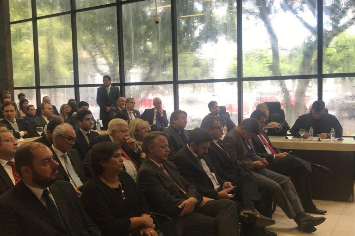 Secretário-Geral representa MPC/MS na posse da nova Procuradora-Geral do Pará