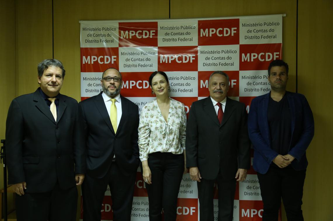 MPC/DF recebe Procuradores-Gerais de Contas do Centro-Oeste