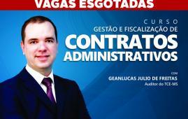 Escoex  vai realizar curso de Gestão e Fiscalização de Contratos Administrativos