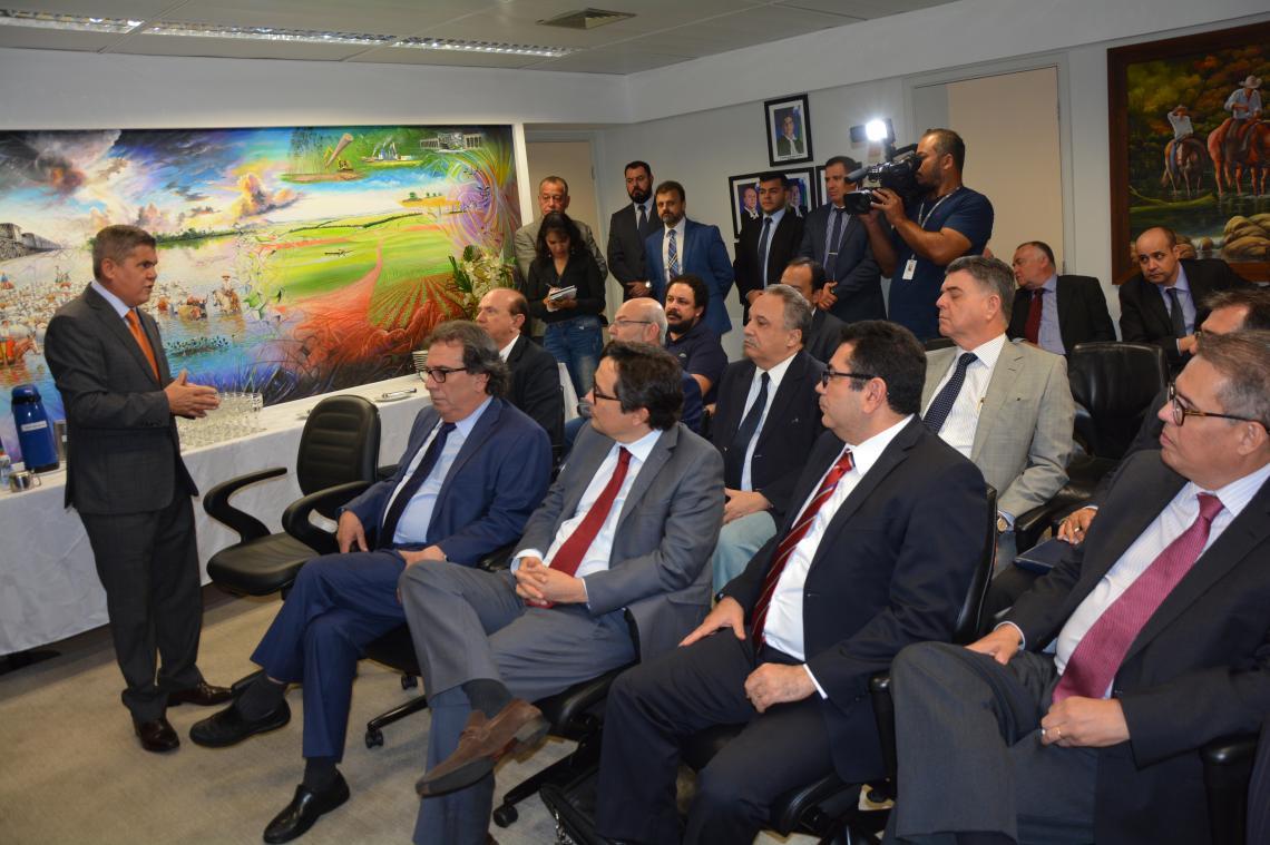 Presidentes de Tribunais conhecem no TCE-MS ferramenta para inovar o controle dos gastos públicos