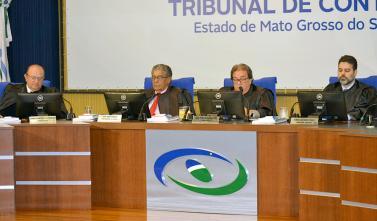 Conselheiros analisam contas de gestão na Segunda Câmara