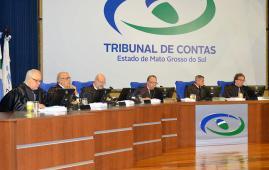 Conselheiros do TCE-MS apreciam 43 processos em sessão do Pleno