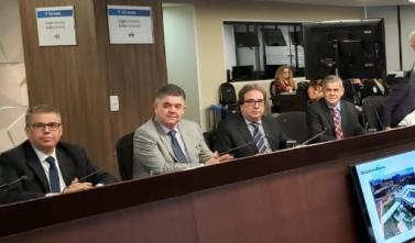 Conselheiros do TCE-MS cumprem agenda em Brasília