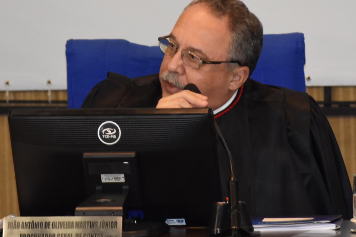 Procurador sugere aplicação de multa e conselheiro relator concorda com parecer