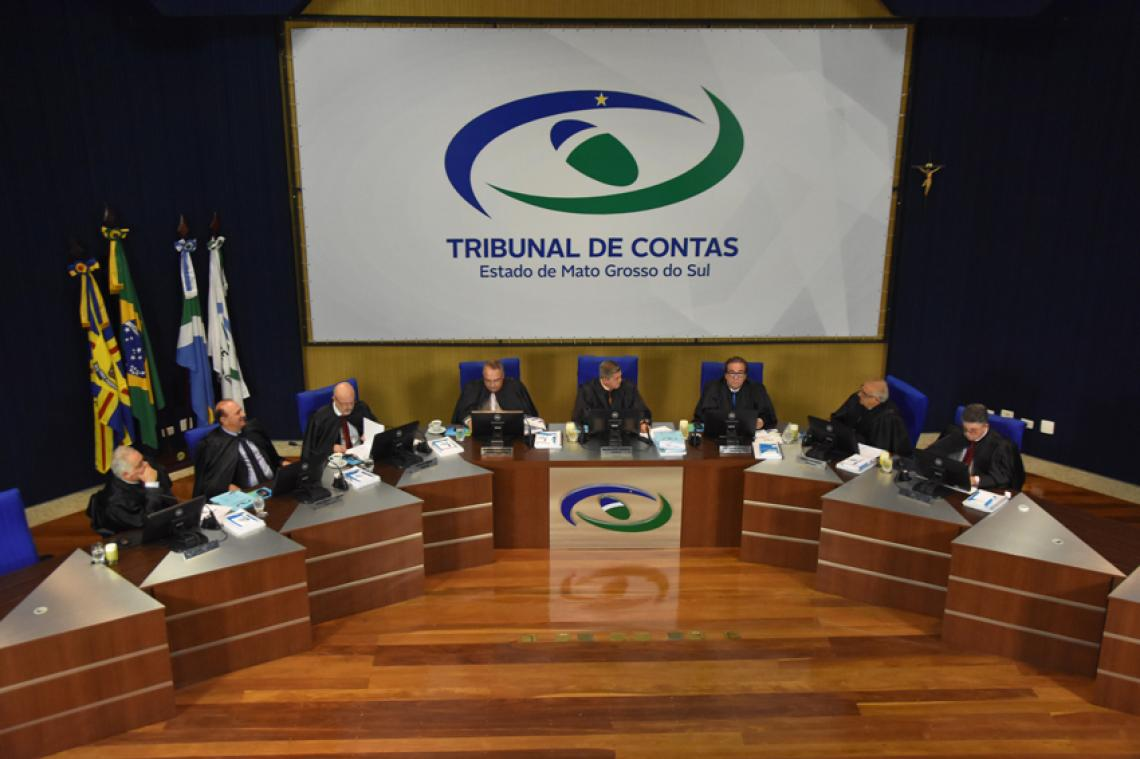 Pleno do TCE-MS julga 83 processos administrativos