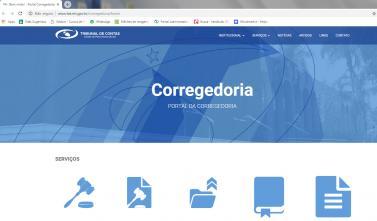 Portal da Corregedoria recebe atualizações para facilitar o acesso à informação