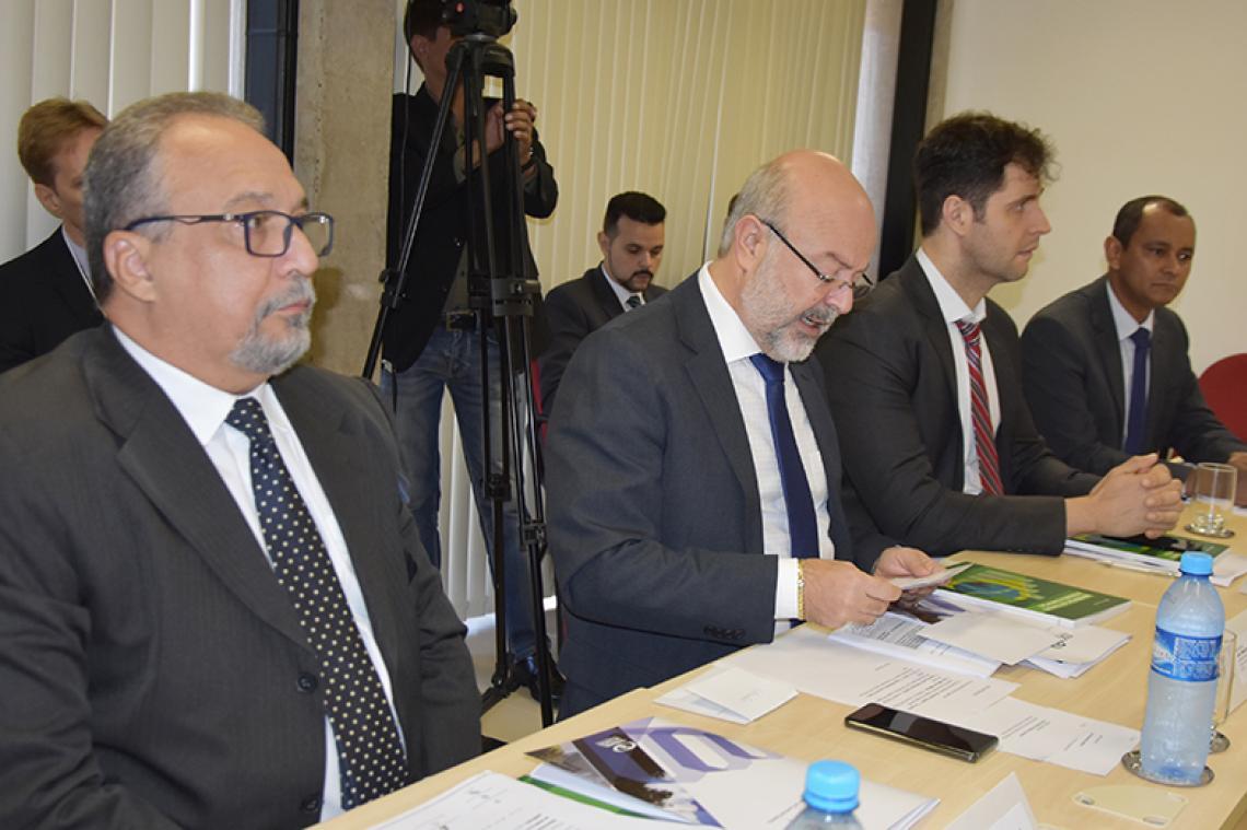 Procurador-Geral participa de apresentação de resultado de auditoria que classifica riscos de fraude e corrupção