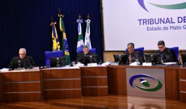 Sessão do TCE-MS aprecia contas de gestão
