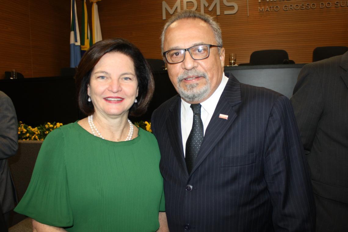 Procurador-Geral prestigia posse do PGJ como Presidente do CNPG que contou com a presença da Procuradora Raquel Dodge