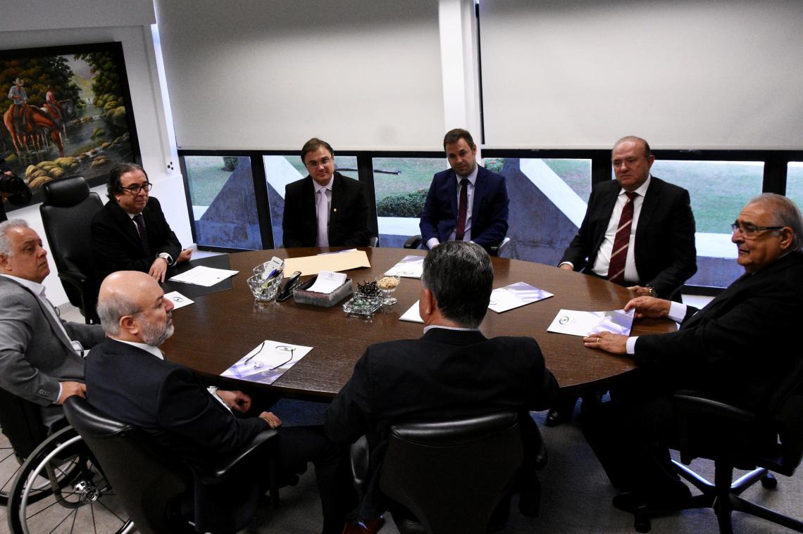 Tribunal de Contas recebe Superintendente da PF para reforçar acordo de cooperação