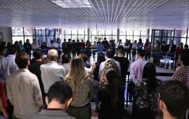 Celebração ecumênica reúne servidores do TCE-MS