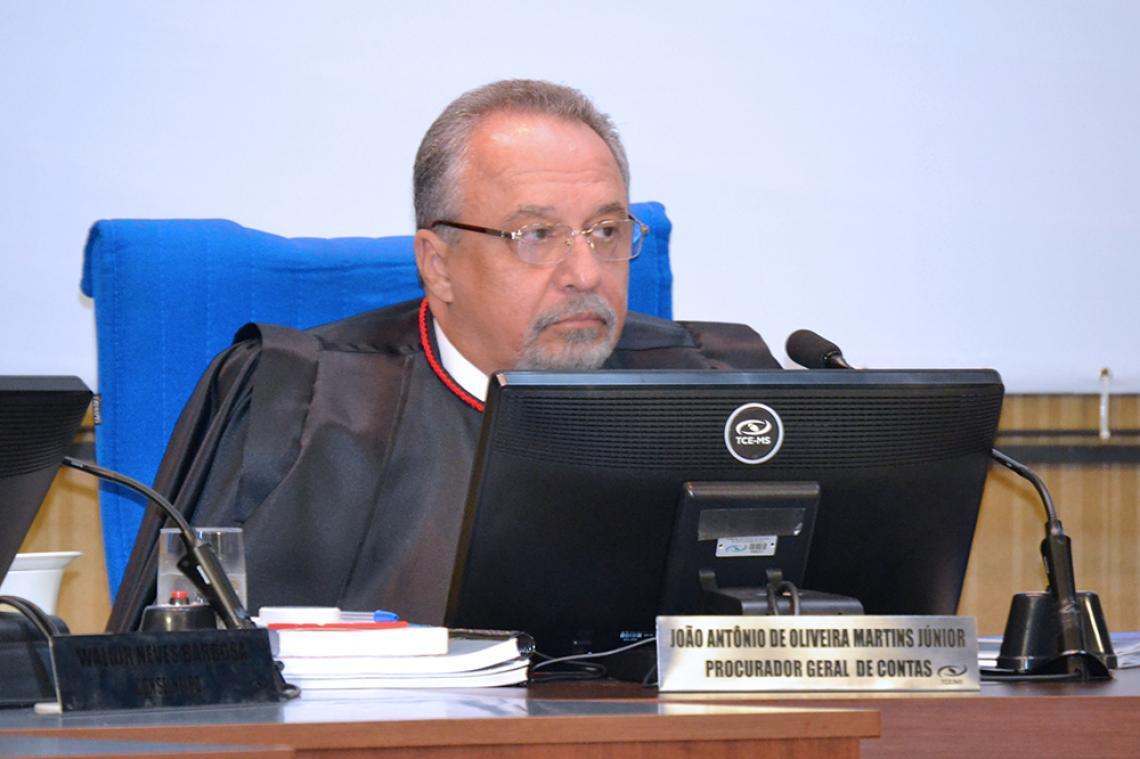 MP de Contas opina pelo não conhecimento de pedido de revisão interposto pelo ex-prefeito de Bela Vista