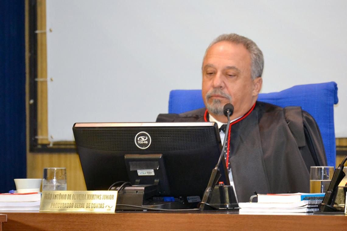 MP de Contas manifesta-se pela aplicação de multa e impugnação a ex-secretário de saúde de Vicentina