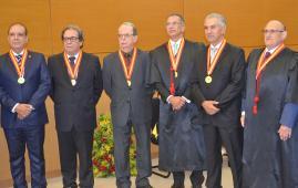 Presidente do TCE-MS é homenageado no Tribunal de Justiça