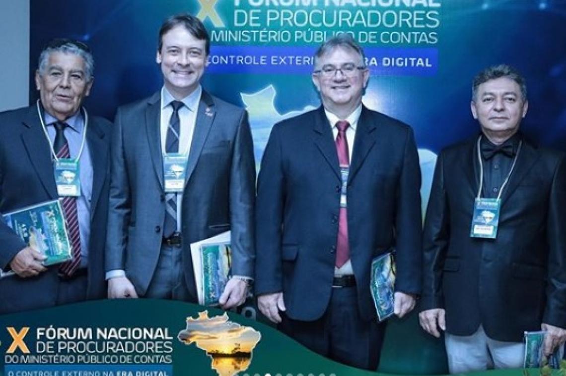 Procurador Adjunto de Contas participa do X Fórum Nacional de Procuradores do MP de Contas