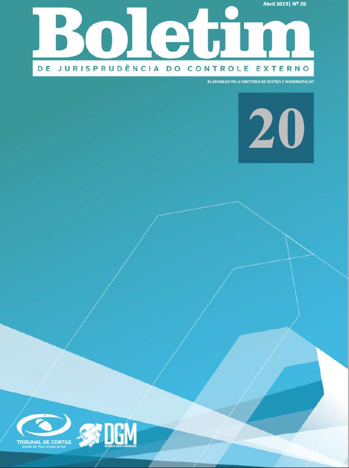 Boletim de Jurisprudência nº 20